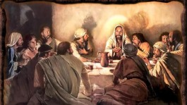 eating with Christ