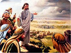Jesus sends