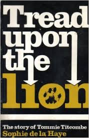 tread upon the lion